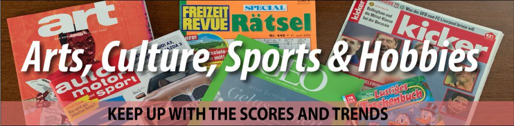 Arts, Culture, Sports and Hobbies - Keep Up With The Scores And Trends