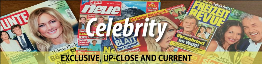 Celebrity - Exclusive, Up-Close And Current