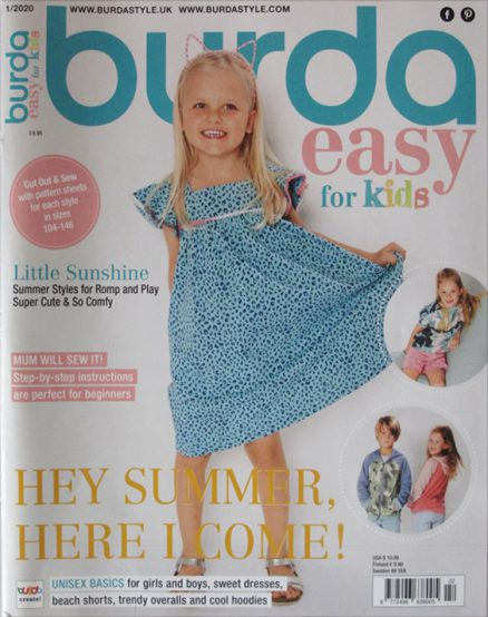 BURDA EASY FOR KIDS - English