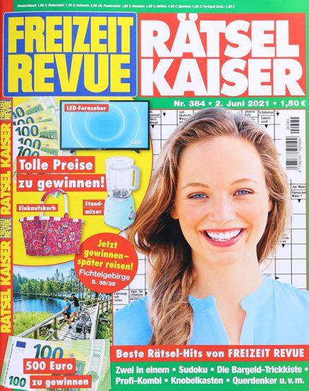 Freizeit Revue Raetsel Kaiser 1259 0621 FMT