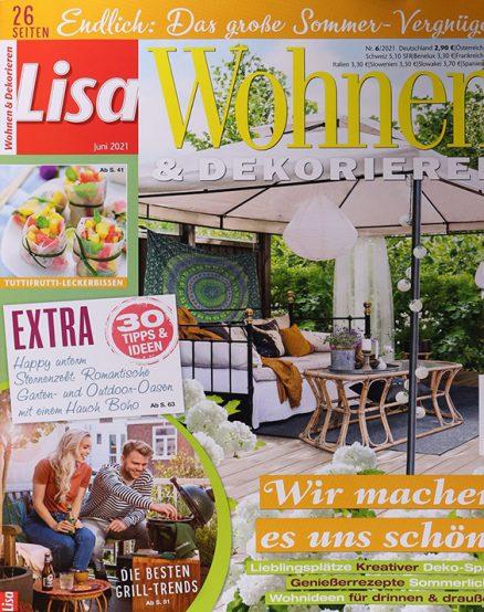 Lisa Wohnen Dekorieren 1256 0621 FMT