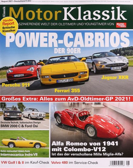 Motor Klassik 1227 0821 FMT